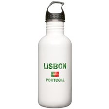 Lisbon Portugal Designs Water Bottle