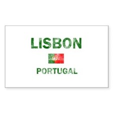 Lisbon Portugal Designs Decal