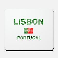 Lisbon Portugal Designs Mousepad