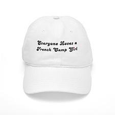 French Camp girl Baseball Cap
