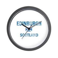 Edinburgh Scotland Designs Wall Clock