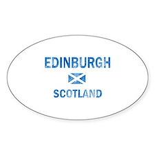 Edinburgh Scotland Designs Decal