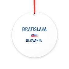 Bratislava Slovakia Designs Ornament (Round)