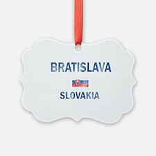 Bratislava Slovakia Designs Ornament