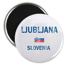 Ljubljana Slovenia Designs Magnet