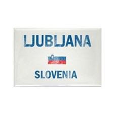 Ljubljana Slovenia Designs Rectangle Magnet