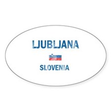 Ljubljana Slovenia Designs Decal