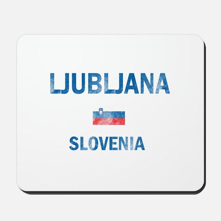 Ljubljana Slovenia Designs Mousepad