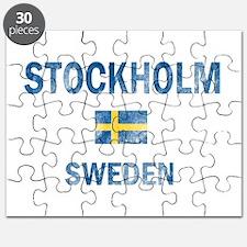 Stockholm Sweden Designs Puzzle