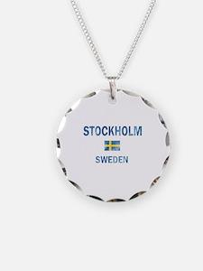 Stockholm Sweden Designs Necklace