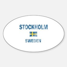 Stockholm Sweden Designs Bumper Stickers