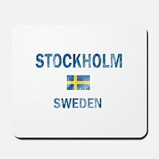 Stockholm Sweden Designs Mousepad