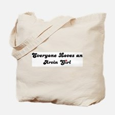 Arvin girl Tote Bag