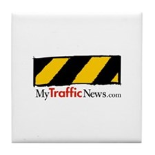 Official MyTrafficNews Tile Coaster