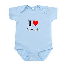 I HEART AMERCIA Infant Bodysuit