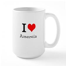 I HEART AMERCIA Mug