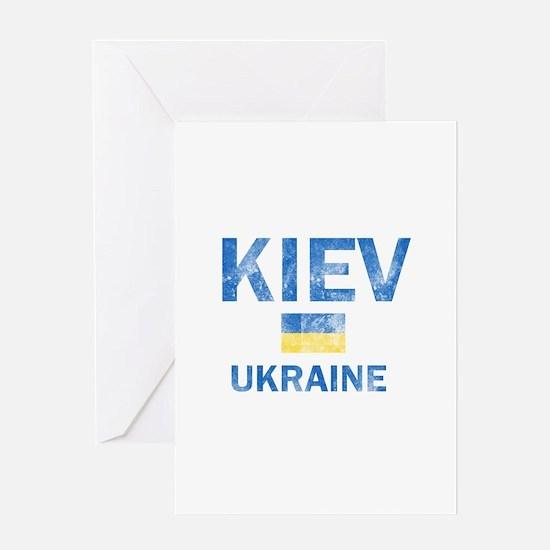 Kiev Ukraine Designs Greeting Card