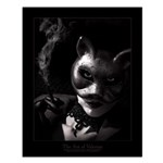 Bad Kitty Small Poster