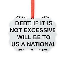 A National Debt Ornament
