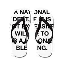 A National Debt Flip Flops