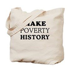 Make Poverty History Tote Bag