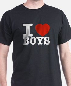 I Love Boys T-Shirt