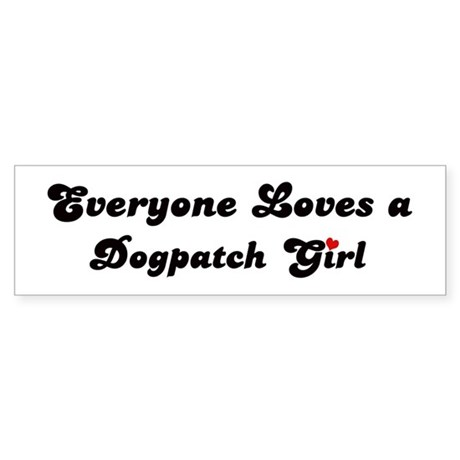 Dogpatch girl Bumper Sticker