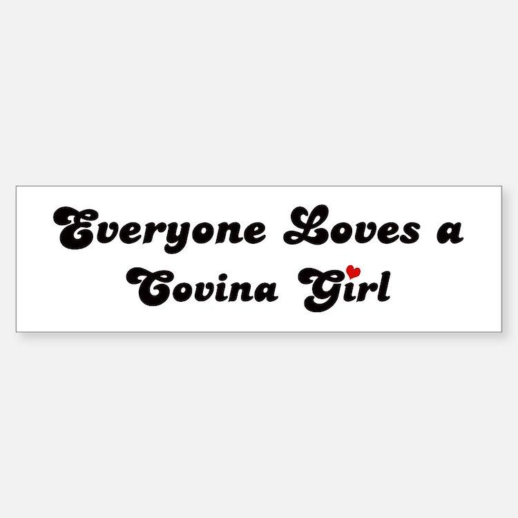 Covina girl Bumper Bumper Bumper Sticker