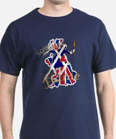 Great Britain Scotland Flame T-Shirt