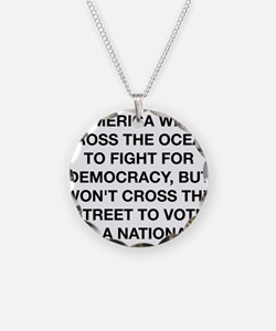 A Citizen Of America Necklace