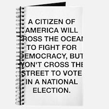 A Citizen Of America Journal