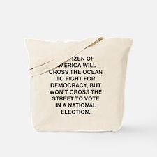 A Citizen Of America Tote Bag