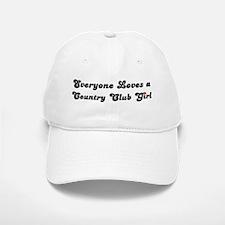 Country Club girl Baseball Baseball Cap