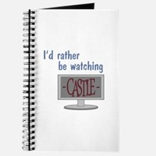 Rather Be Watching Castle Journal