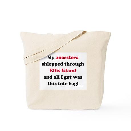 My Ancestors / Ellis Island Tote Bag