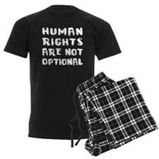 Human Rights Are Not Optional Pajamas