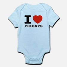 I Love Fridays Infant Bodysuit
