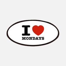 I Love Mondays Patches
