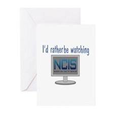 Rather Be Watching NCIS Greeting Cards (Pk of 20)
