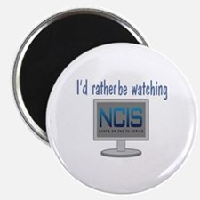 Rather Be Watching NCIS Magnet