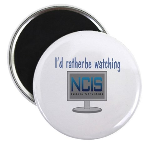 "Rather Be Watching NCIS 2.25"" Magnet (100 pack)"