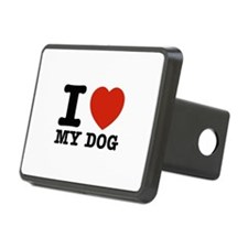 I Love My Dog Hitch Cover
