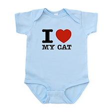 I Love My Cat Infant Bodysuit
