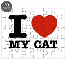 I Love My Cat Puzzle