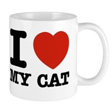 I Love My Cat Mug