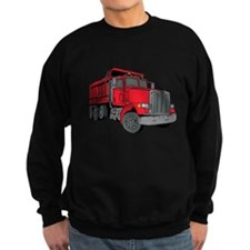 Big Red Dump Truck Sweatshirt