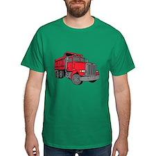 Big Red Dump Truck T-Shirt