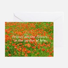 Friends Are Like Flowers Greeting Cards (Pk of 20)