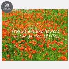Friends Are Like Flowers Puzzle