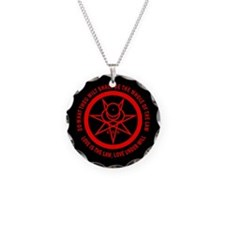 Mark of the Beast Necklace (red/black)
